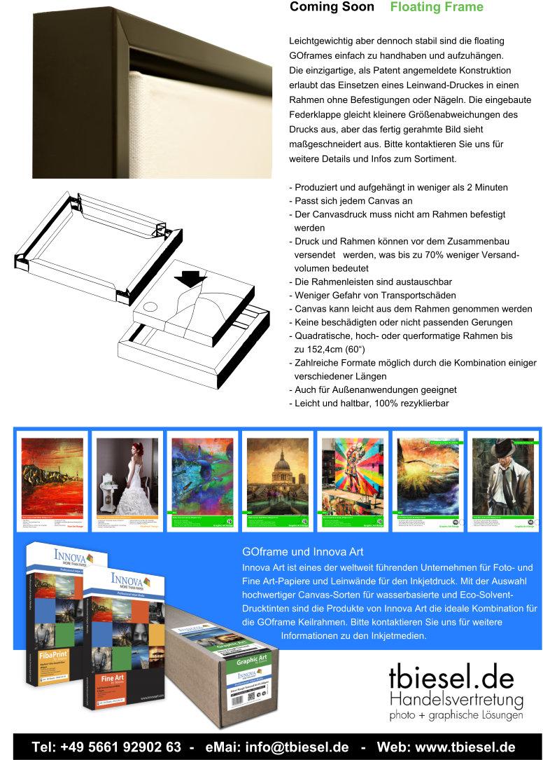 Fantastisch Floating Galerierahmen Galerie - Benutzerdefinierte ...